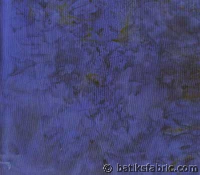 Deep Sea Blue Batik Fabric | BMW07-760