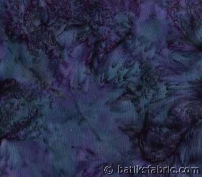 Ocean Blue Batik Fabric | GGL 1940